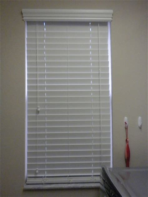 2 Inch Faux Wood Blinds Premium 2 Inch Faux Wood Blinds Pearl White