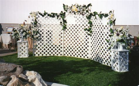 five ways to enhance outdoor wedding d 233 cor