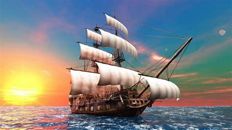 boat size for ocean travel the ship travels across the sea android wallpapers for free