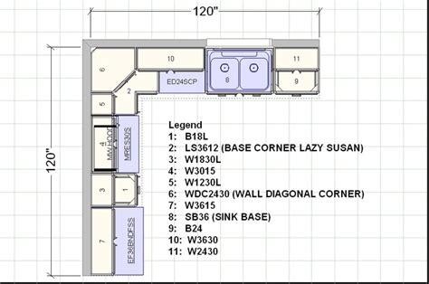 12x14 kitchen floor plan 10x10 sle diagram