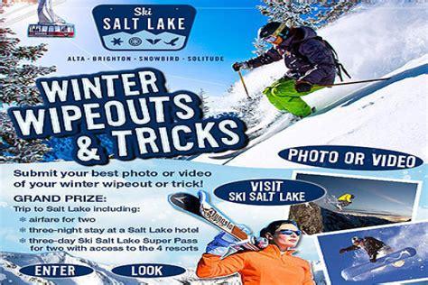 Ski Utah Sweepstakes - ski salt lake contest ski utah