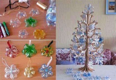diy beautiful wonderful diy beautiful snowflake ornaments from plastic