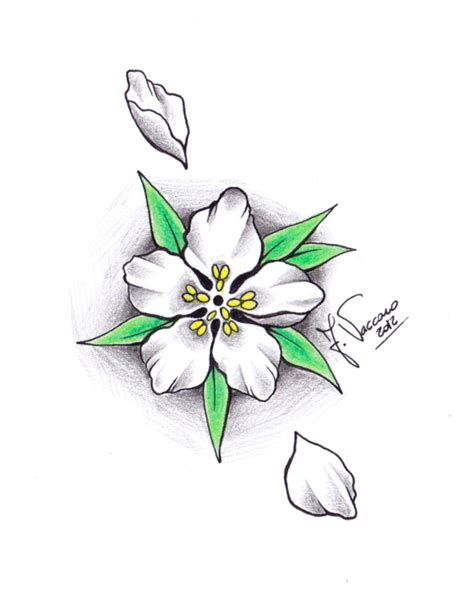 colorful flower tattoos designs royalty free images no free peach blossom tattoo download free clip art free