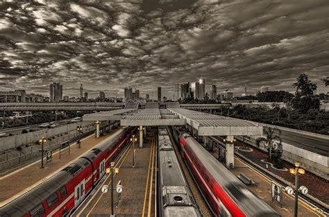 Nyc Duvet Tel Aviv Central Railway Station Photograph By Ron Shoshani