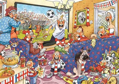 football fever   pc original wasgij  jigsaw