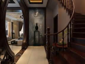 Villa Stairs Design Villa Interior Villas Interior Wooden Staircase Design Inviting Interiors