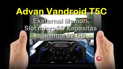 Tablet Advan Kamera 8mp advan vandroid t5c tablet android kamera 8mp harga n spek