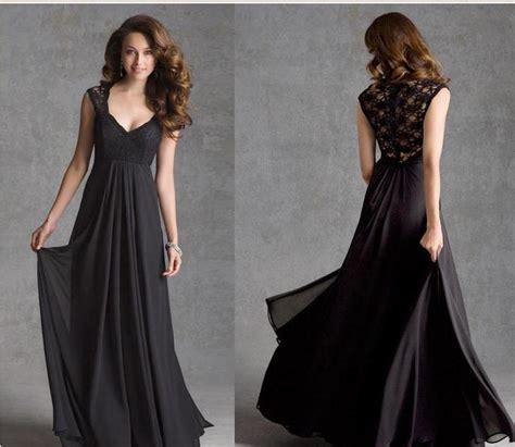Piringan Hitam De Halo Sayang 2014 sayang renda hitam gaun pengiring pengantin panjang sifon a line gaun pesta pernikahan