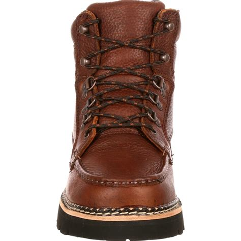 Safety Shoes Kruser s 6 quot casual brown chukka lacer boots rocky western
