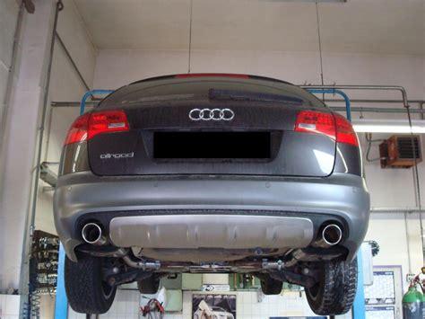 Audi A6 Sportauspuff by Fox Duplex Sportauspuff Auspuff Audi A6 4f C6 Avant