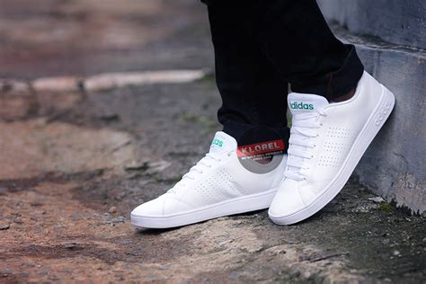 Sepatu Adidas Stansmit White Black Asli Import Made In 1 jual adidas neo advantage clean white original 100