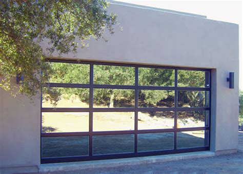 glass roll up garage doors procraft door glass murrieta california proview