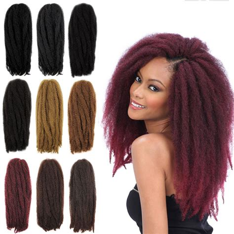 marley hair extensions 3pack crochet hair extensions 18 quot havana mambo twist