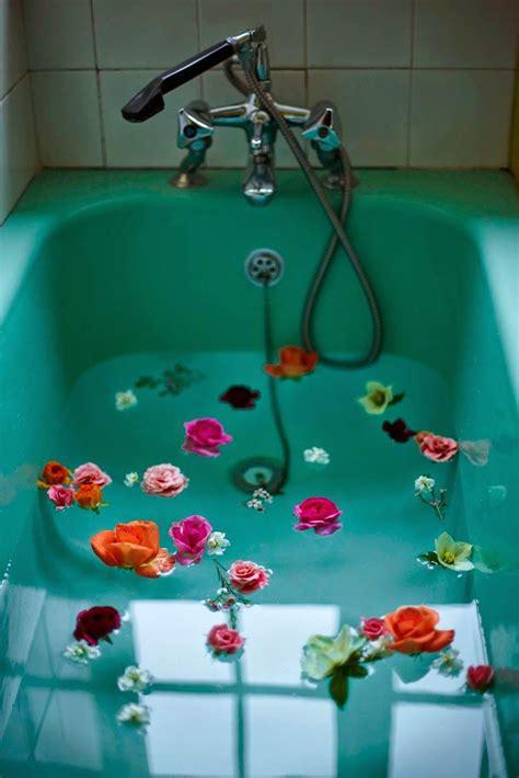 Bath Flower Green flower aesthetic bath flowers photography