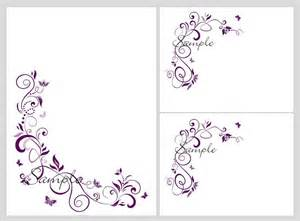 blank wedding invitation templates 100 wedding invitation kit purple butterfly invitations
