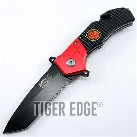 assist pocket knife assist folding pocket knife black serrated tanto blade
