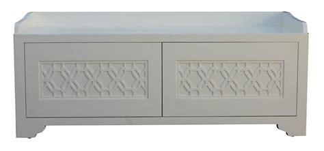 custom benches with storage custom bedroom storage bench with geometric lattice