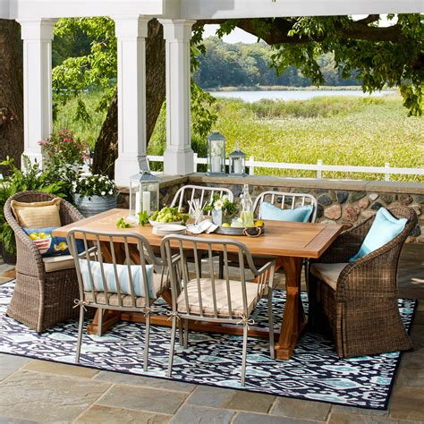 Cushions For Outdoor Patio Furniture Farmhouse Patio Furniture Finds House Of Hargrove