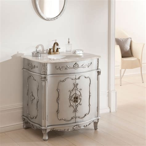 antique vanity unit is a wonderful addition to our
