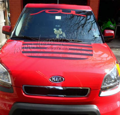 Decals For Kia Soul Decal Decals Graphics Graphic Fits 09 Up Kia Soul