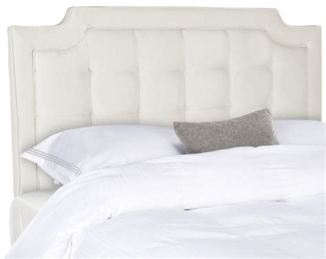 Tufted Linen Headboard by Sapphire Cr 232 Me Tufted Linen Headboard Headboards