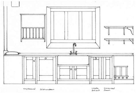 Kitchen Design Drawings Barnes Furniture Maker Designing A Kitchen Or Bespoke