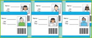dr name tag template hospital id badges eyfs play free early years