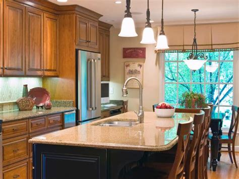 cheap kitchen island ideas cheap versus steep kitchen lighting hgtv