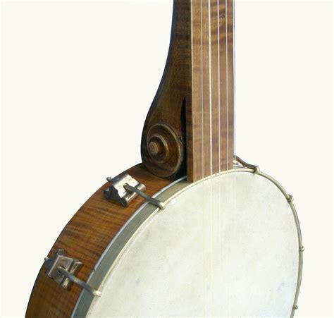 Handcrafted Banjo - custom violjo modern minstrel style 5 string open back