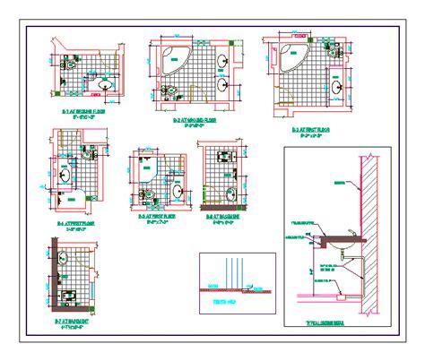 details bathroom in autocad download cad free 8524 kb