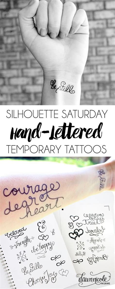 design your own temporary tattoo lettered temporary tattoos free silhouette