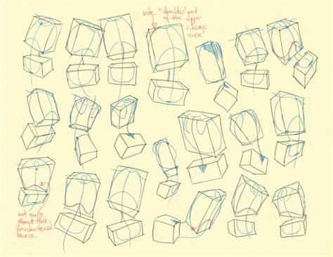 how to draw flow lines hton p 30 36 torso landmark volume studies by