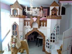 Children s castle theme beds traditional kids houston by sweet