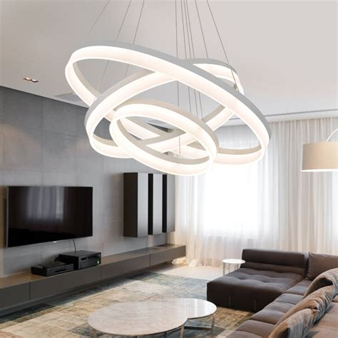 modern led pendant light creative circle pendant light led