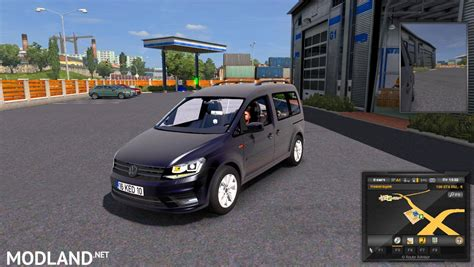 mod car game euro truck simulator 2 volkswagen caddy 1 28 mod for ets 2