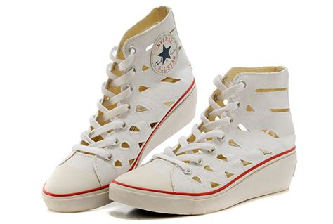 Light Pink Wedges Converse Shoes For Women With Heels Offerzone Co Uk
