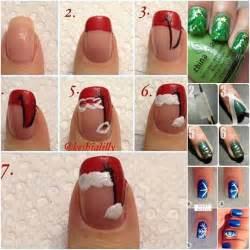 20 cutest christmas nail art diy ideas fabric art diy