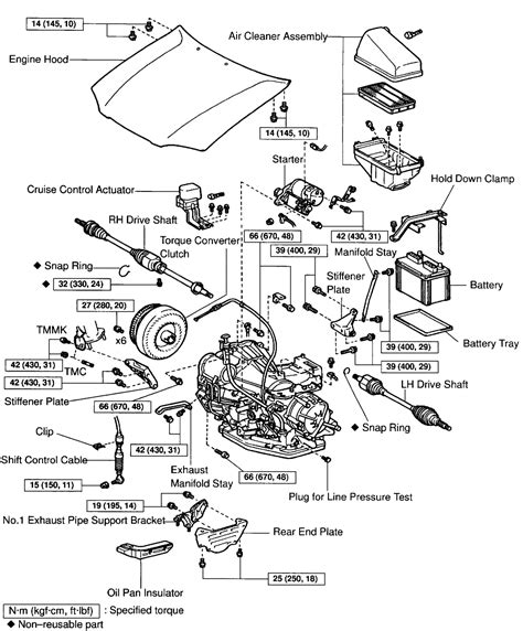 1996 toyota camry engine diagram 1996 toyota camry starter diagram