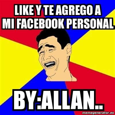Yao Ming Meme Generator - meme yao ming like y te agrego a mi facebook personal by