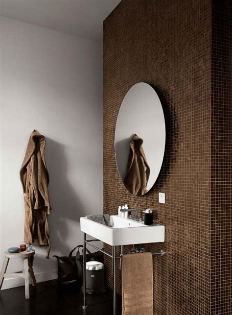brown bathroom walls 40 brown bathroom wall tiles ideas and pictures
