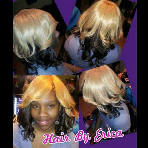 no hair out full weave invisible part full head sew in weave no hair left out