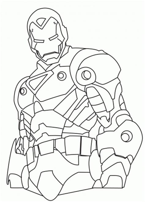 imagenes para dibujar de iron man dibujo de iron man dibujo para colorear de iron man