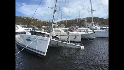 damaged catamaran for sale australia hurricane irma and maria s impact on the yachting market