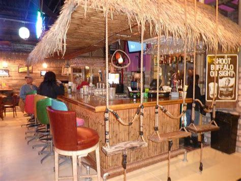 swinging bar chairs paradise burger company at the rockwall harbor