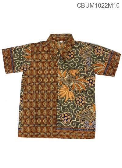 Kemeja Anak Size L baju batik anak kemeja motif wadas tumpal size l kemeja