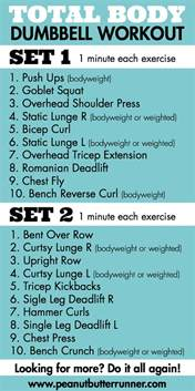 total dumbbell strength workout