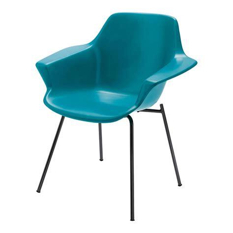 fauteuil bleu canard fauteuil vintage bleu canard guariche maisons du monde