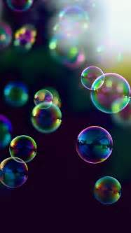 colorful bubbles colorful bubbles in sunlight wallpaper free iphone