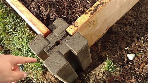 raised bed garden easy  planter wall blocks