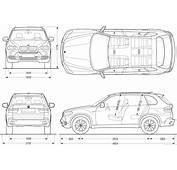 All BluePrint BMW X5 2008 2560x1440 Blueprint